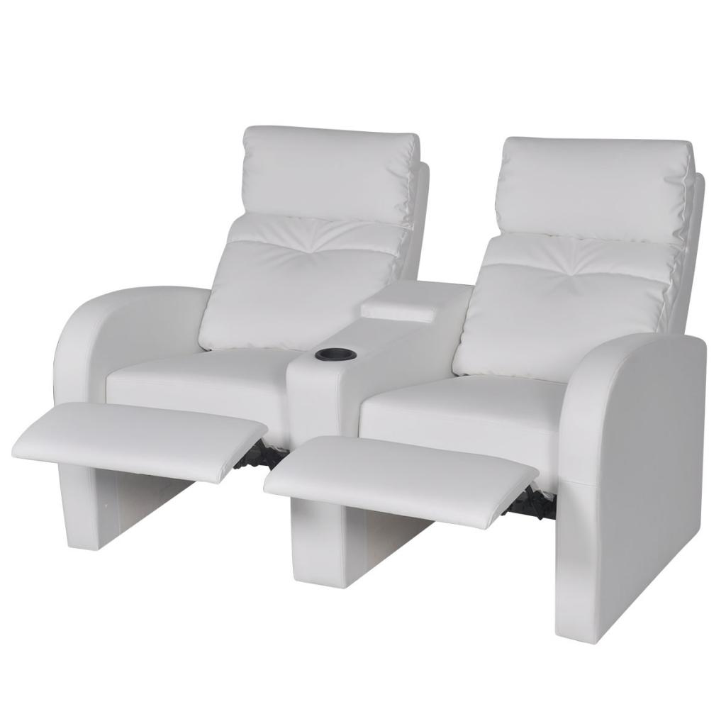 Only canap deux places fauteuil inclinable en - Fauteuil deux places ...