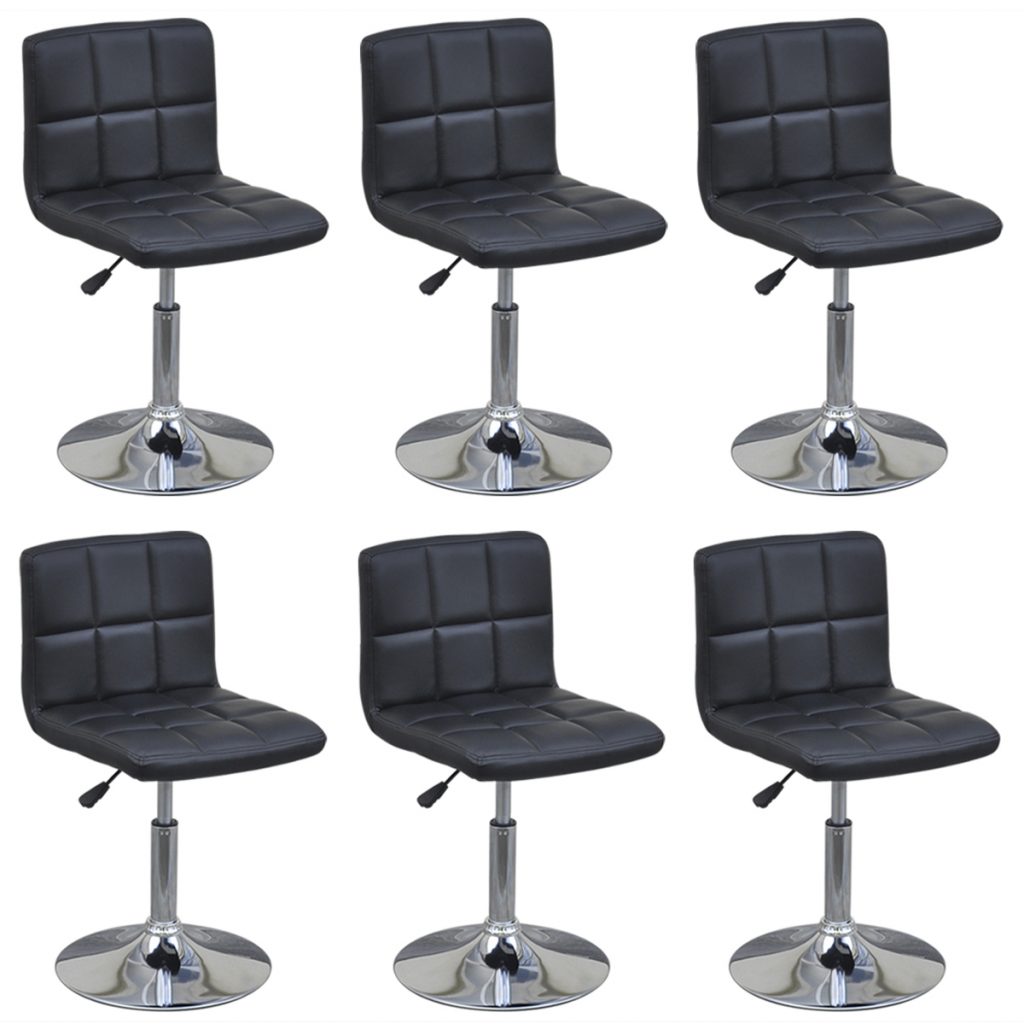 black 6 Chairs Swivel Black Table with Adjustable Height  : 272430DE 1 YZXM from www.lovdock.com size 1024 x 1024 png 653kB