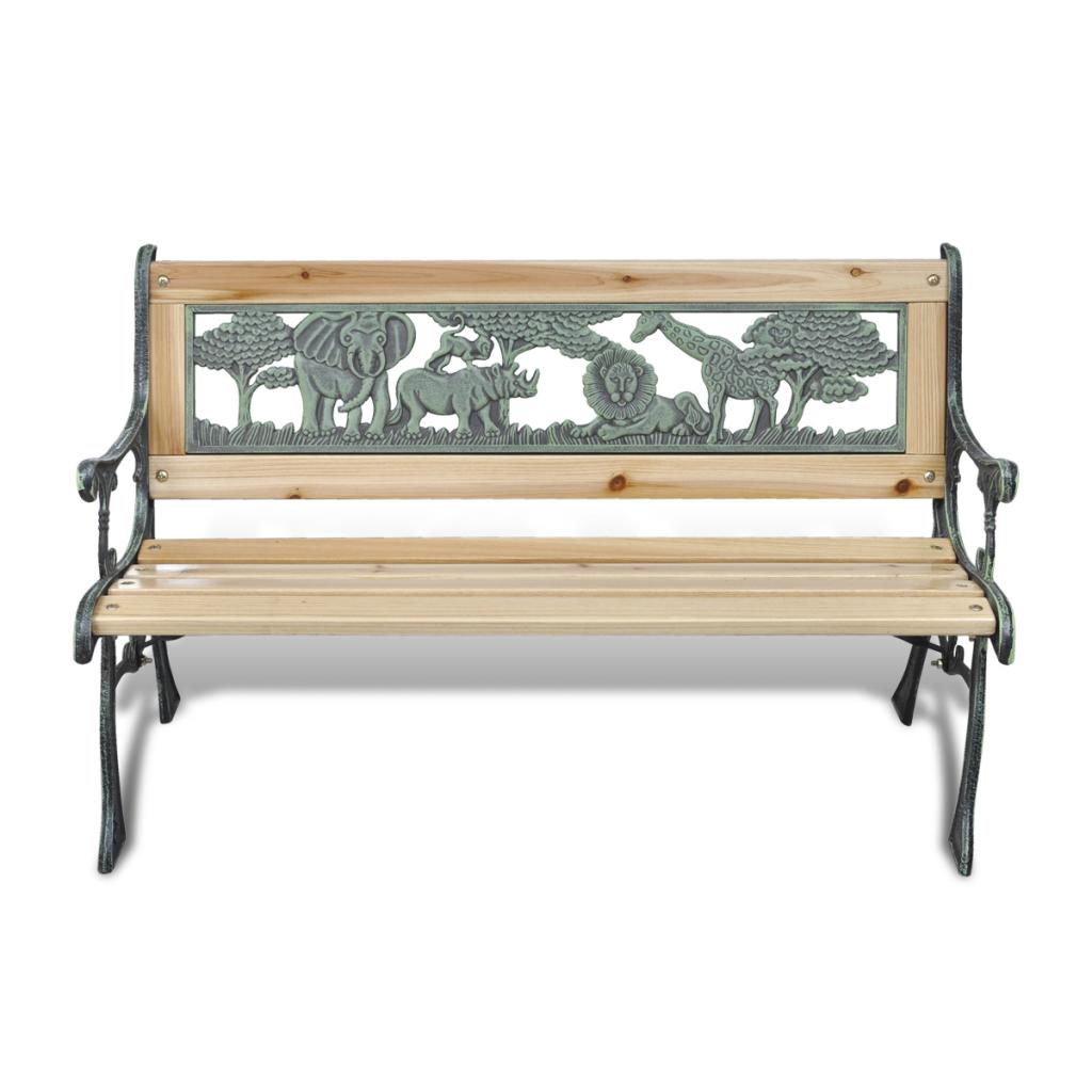 nur gartenbank sitzbank gartenm bel holzbank parkbank f r kinder. Black Bedroom Furniture Sets. Home Design Ideas