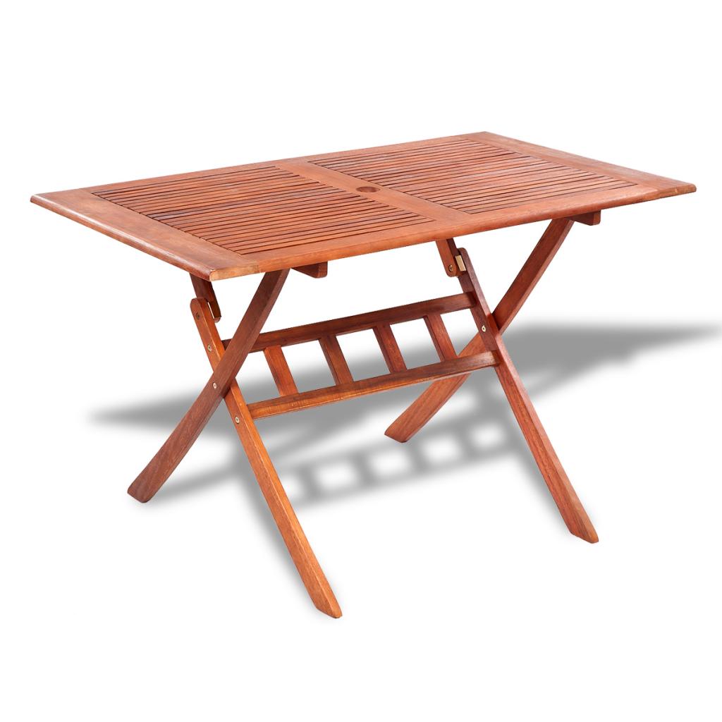 natural wood rectangular wooden outdoor dining table. Black Bedroom Furniture Sets. Home Design Ideas