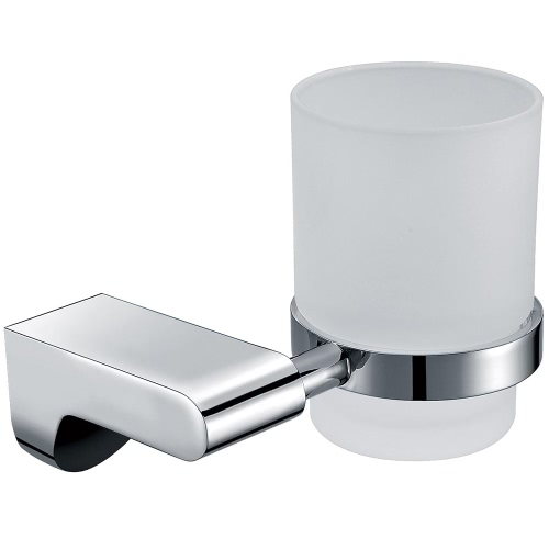 Homgeek Stainless Steel Glass Cup Holder