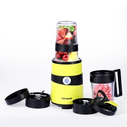 Homgeek Multifunctional Nutri Extractor Blender Mixer Fruits Juicer