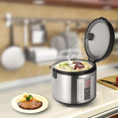 Homgeek 5L Professional 20 Cup Rice Cooker