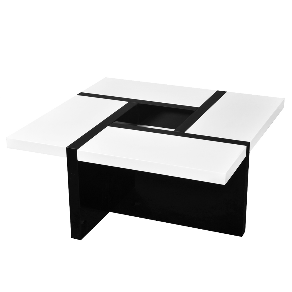 White white black high gloss coffee table lovdock white black high gloss coffee table geotapseo Image collections