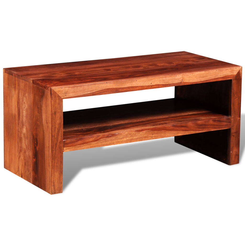 Wood sheesham solid tv stand side table lovdock