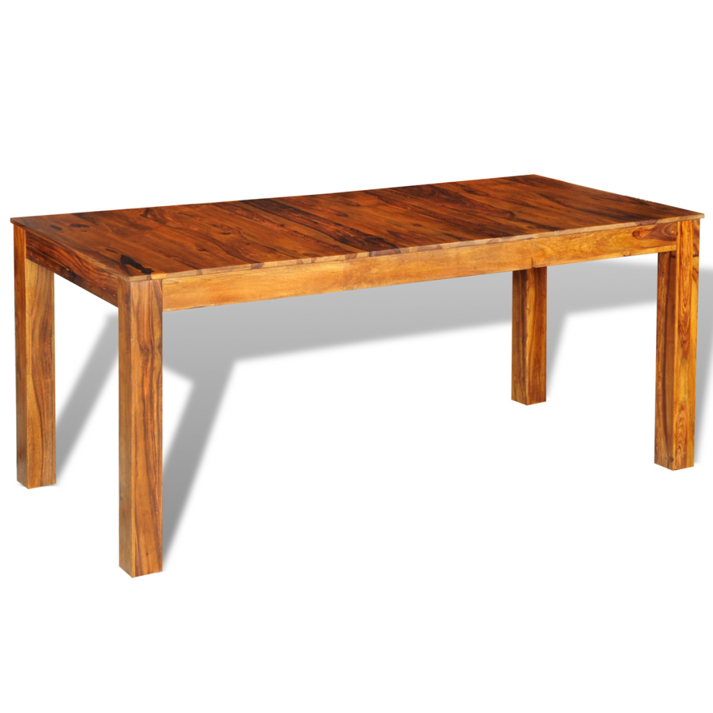 Wood sheesham solid wood dinning table 180 x 85 x 76 cm for Table largeur 85 cm
