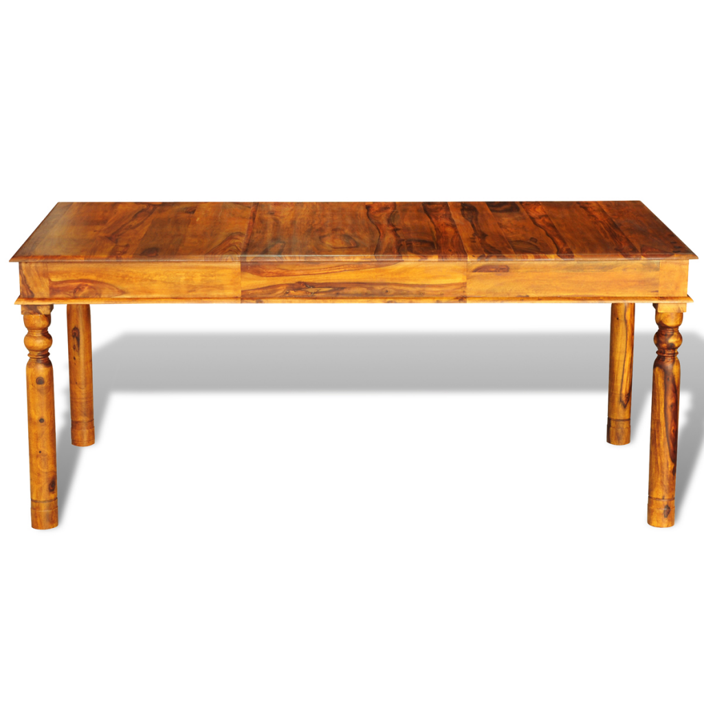 Wood sheesham solid wood colonial style table 180 x 85 x for Transmutation table 85 items