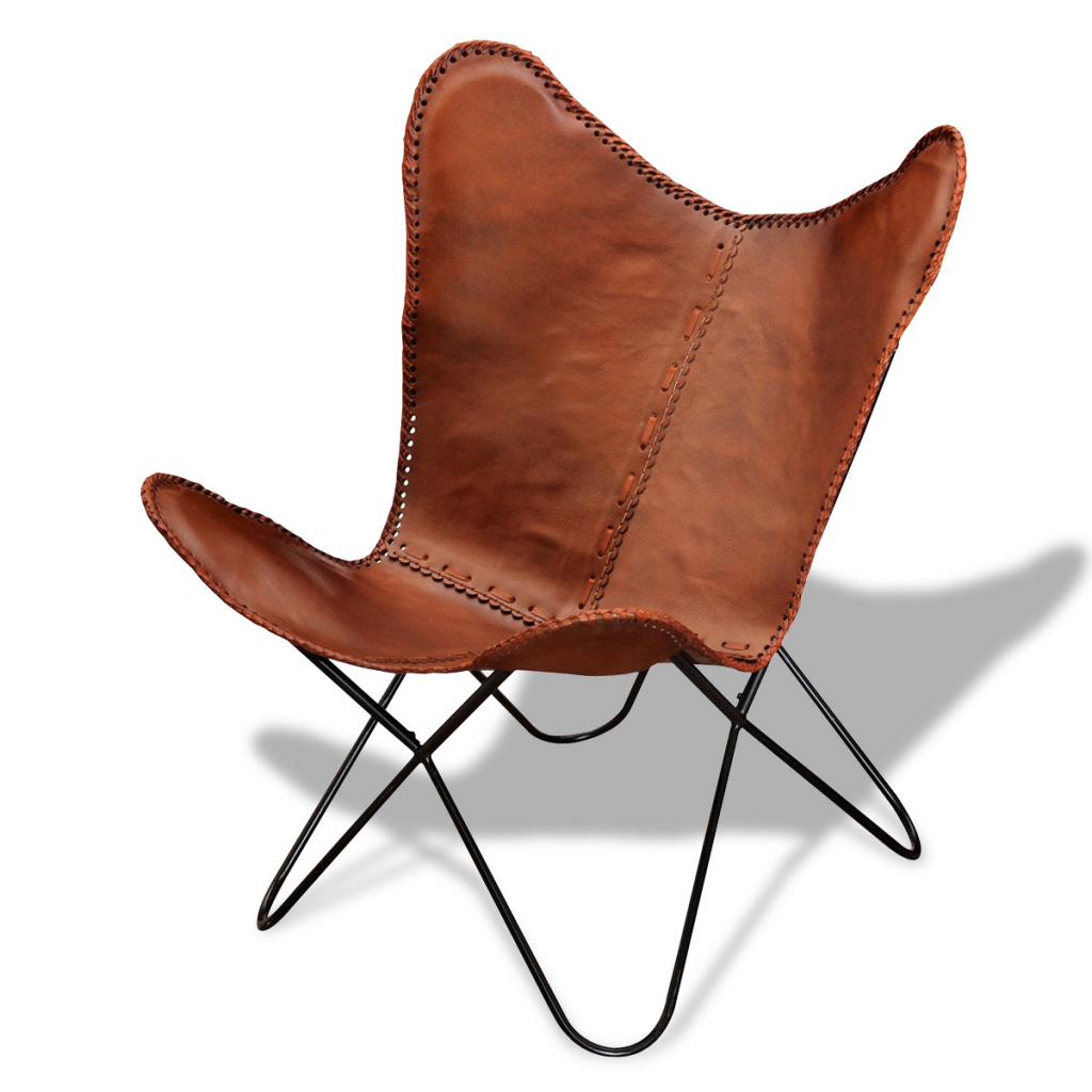 Butterfly chair original - Bkf Chair Butterfly Retro Vintage Leather