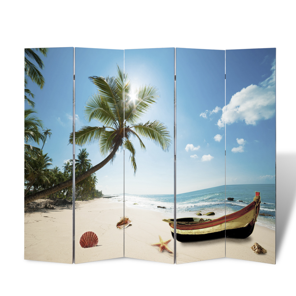 printing partition wall partition privacy 200 x 180 beach