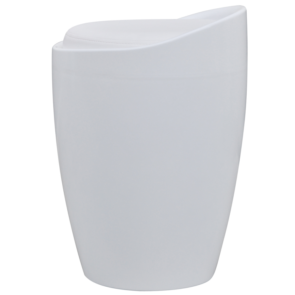 White Round ABS Stool with White Removable Seat  sc 1 st  LovDock & white White Round ABS Stool with White Removable Seat - LovDock.com islam-shia.org