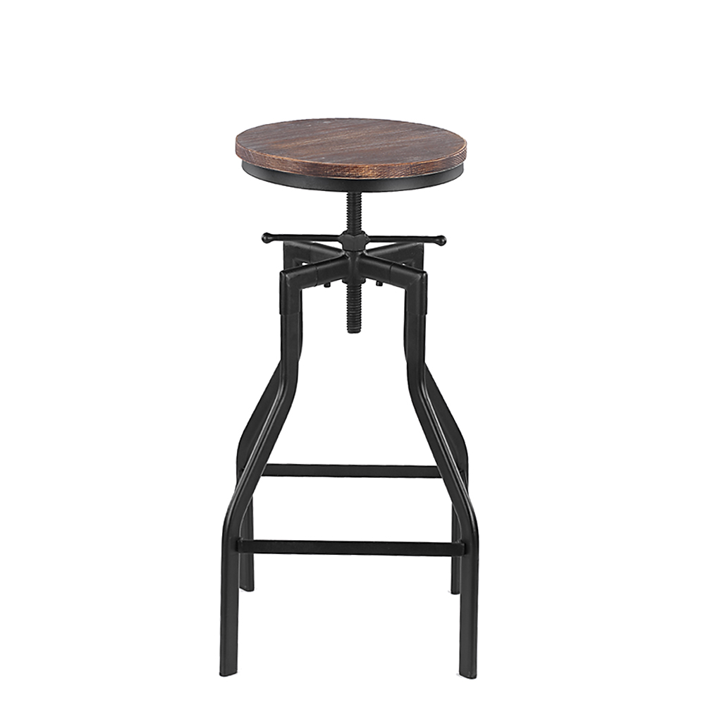 only tabouret de bar pivotant r glable en hauteur ikayaa chaise manger en cuisine. Black Bedroom Furniture Sets. Home Design Ideas