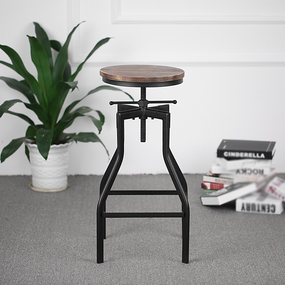 Only tabouret de bar pivotant r glable en hauteur - Chaise de bar reglable en hauteur ...