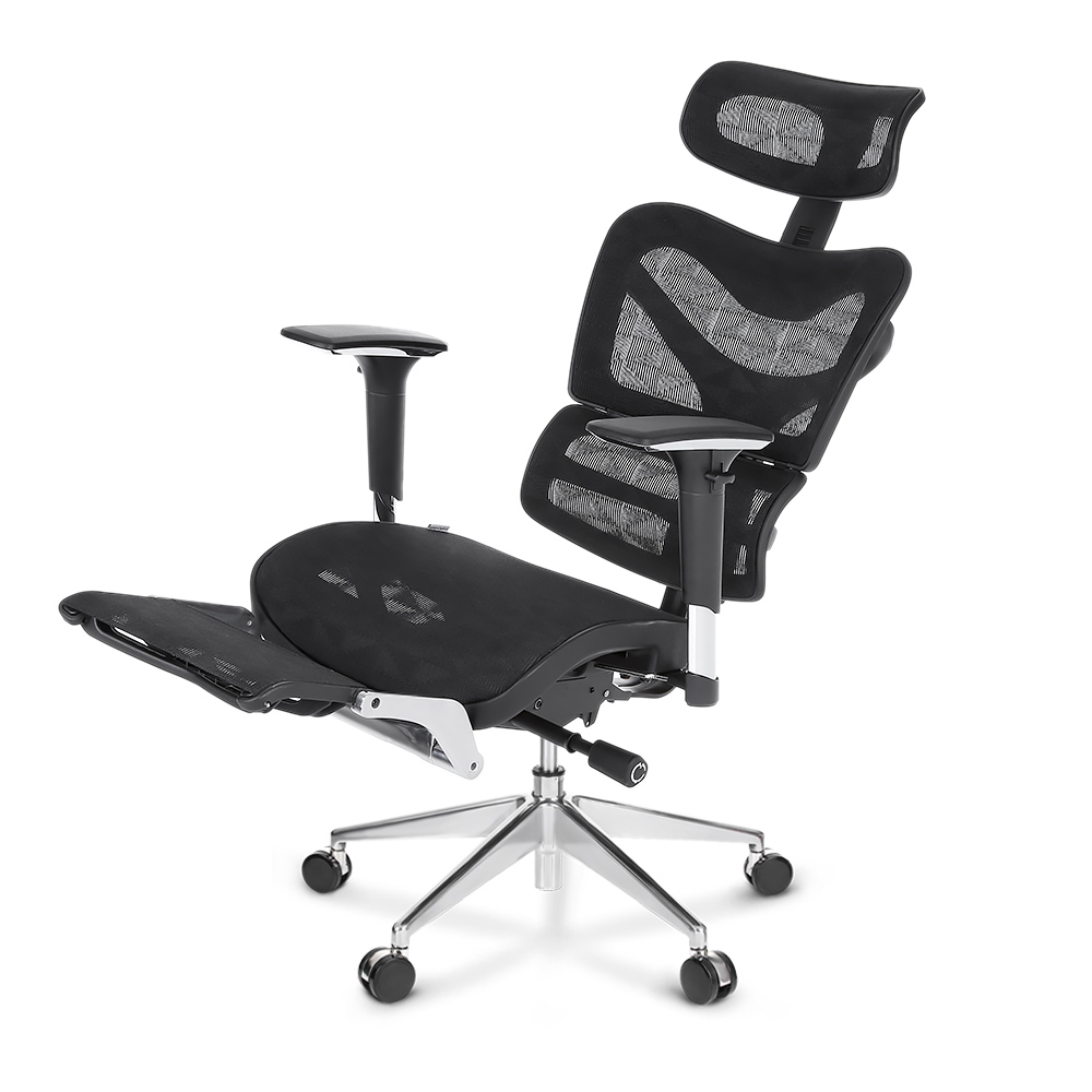 ikayaa ergonomic mesh office computer desk gaming chair