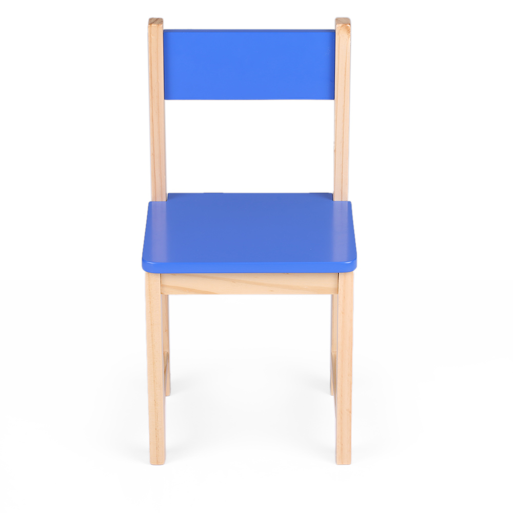 Blue School Chair blau ikayaa wooden stackable kids toddler school chair - lovdock