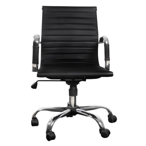 Black Leather Office Chair (TOMTOP) Fort Worth Buy Sell