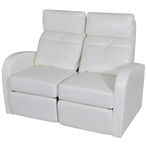 Artificial Leather Cinema Recliner Reclining Sofa Seat 9367 Product Photo